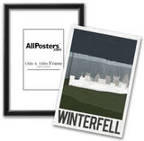 Winterfell Retro Travel Poster Print