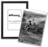 Dirt Bike Motorcyle Racing Archival Photo Poster Print