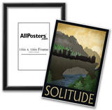 Solitude Retro Travel Poster Posters