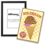 Retro Ice Cream Prints