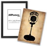 Vintage Radio Microphone Prints