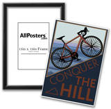 Conquer the Hill - Mountain Bike Print