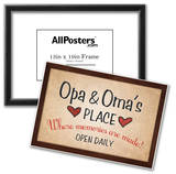 Opa and Omas Place Prints
