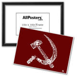 Soviet Pics and Text Poster Prints