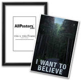 Bigfoot I Want To Believe Prints