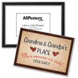 Grandma and Grandpa's Place Print