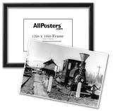 Fairbanks, Alaska View of Alaska Railroad Depot Photograph - Fairbanks, AK Photo