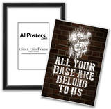 All Your Base Graffiti Print
