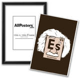 Einsteinium Element Snorg Tees Poster Prints