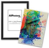 Hemingway Watercolor 2 Poster