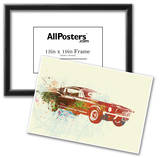 Ford Mustang Watercolor Prints
