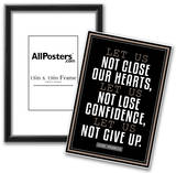 Let Us Not Give Up Pope Francis Quote Prints