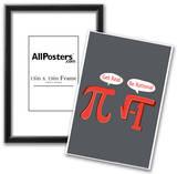 Pi Get Real Snorg Tees Poster Prints