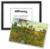 Vincent Van Gogh Tardis at Montmajour Posters