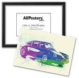 Porsche 911 Watercolor Print