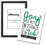 Joy Is Not In Things Photo