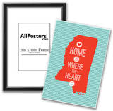 Home Is Where The Heart Is - Mississippi Prints