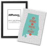 Home Is Where The Heart Is - Alabama Posters