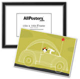 Dog, Cat, Bird in Car Prints