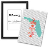 Home Is Where The Heart Is - Flordia Prints