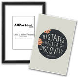Mistakes Are Portals Of Discovery Posters