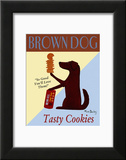 Brown Dog Tasty Cookies Poster