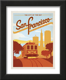 San Francisco, California: The City By The Bay Posters