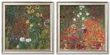 Farmer's Garden Prints by Gustav Klimt