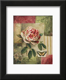 Rose and Butterfly Art