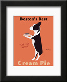 Bostons Best Cream Pie Poster