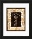 Grooming Shaving Print