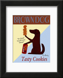 Brown Dog Tasty Cookies Posters
