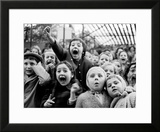 Children at a Puppet Theatre, Paris, 1963 Framed Photographic Print by Alfred Eisenstaedt