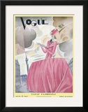 Vogue Cover - April 1927 Posters by William Bolin