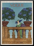 Vogue Cover - June 1912 Mounted Print by Wilson Karcher