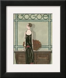 Vogue - February 1925 Prints by Georges Lepape