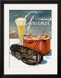 Gourmet Cover - July 1945 Prints by Henry Stahlhut