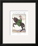 Vogue Cover - January 1926 Prints by André E. Marty