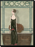 Vogue - February 1925 Framed Print Mount by Georges Lepape