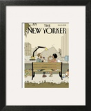 The New Yorker Cover - August 31, 2015 Art Print by Adrian Tomine