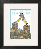 Love Stories - The New Yorker Cover, June 9, 2014 Wall Art by Joost Swarte