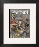 The New Yorker Cover - November 3, 2014 Art Print by Peter de Sève
