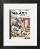 The New Yorker Cover - November 17, 2014 Wall Art by Ricardo Liniers