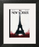 The New Yorker Cover - January 19, 2015 Art Print by Ana Juan