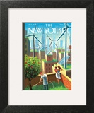 A Bright Future - The New Yorker Cover, May 19, 2014 Posters by Eric Drooker