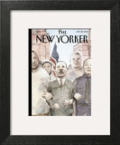 The New Yorker Cover - January 26, 2015 Wall Art by Barry Blitt