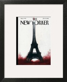 The New Yorker Cover - January 19, 2015 Art by Ana Juan