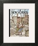 The New Yorker Cover - March 16, 2015 Wall Art by Ricardo Liniers