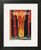 The New Yorker Cover - August 3, 2015 Art Print by Mark Ulriksen