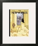 Perfect Storm - The New Yorker Cover, February 10, 2014 Wall Art by Tomer Hanuka